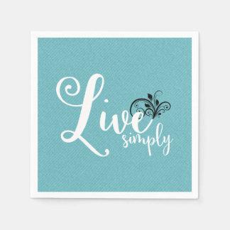 Decorative Napkins | Live Simply Disposable Napkins