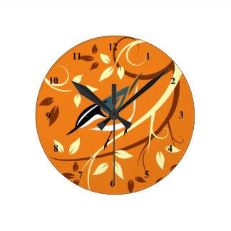 Decorative Nuthatch Bird Clocks