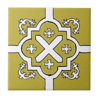 Decorative Olive Spanish Style tile