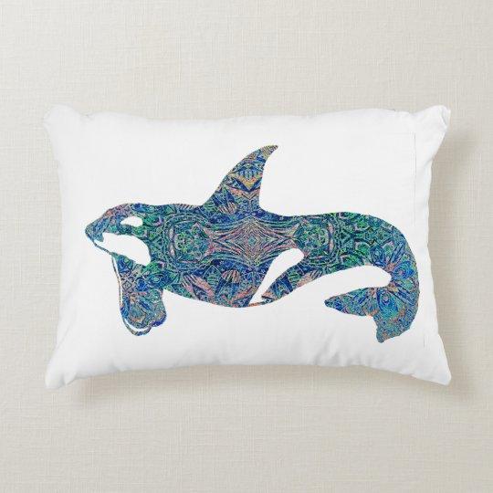 Decorative Orca Decorative Pillow