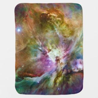 Decorative Orion Nebula Galaxy Space Photo Baby Blanket