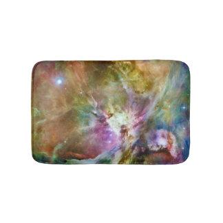 Decorative Orion Nebula Galaxy Space Photo Bath Mat