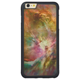 Decorative Orion Nebula Galaxy Space Photo Carved® Maple iPhone 6 Plus Bumper Case