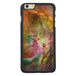 Decorative Orion Nebula Galaxy Space Photo Carved® Maple iPhone 6 Plus Case