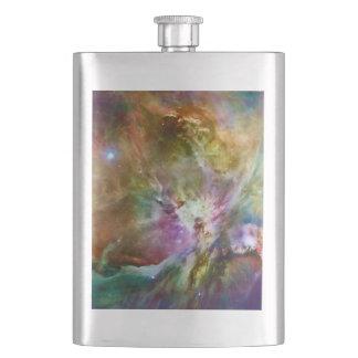 Decorative Orion Nebula Galaxy Space Photo Flask