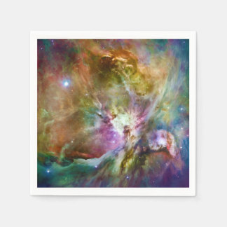 Decorative Orion Nebula Galaxy Space Photo Paper Napkins