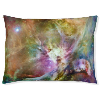 Decorative Orion Nebula Galaxy Space Photo Pet Bed