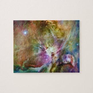 Decorative Orion Nebula Galaxy Space Photo Puzzle