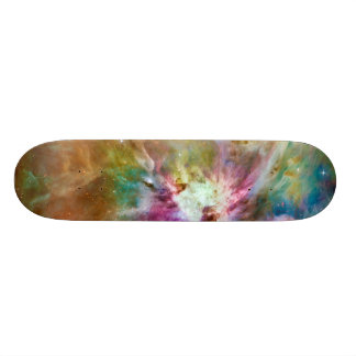 Decorative Orion Nebula Galaxy Space Photo Skateboard