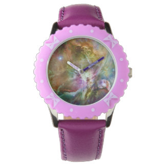 Decorative Orion Nebula Galaxy Space Photo Watches