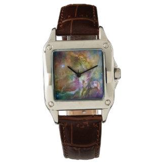 Decorative Orion Nebula Galaxy Space Photo Wrist Watches