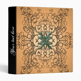 Decorative ornament vinyl binder