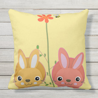 Decorative outdoor pillow