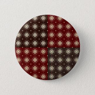 Decorative Pattern 2 Inch Round Button