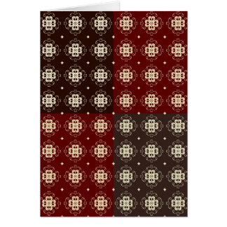 Decorative Pattern Card