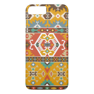 Decorative pattern in tribal style iPhone 7 plus case