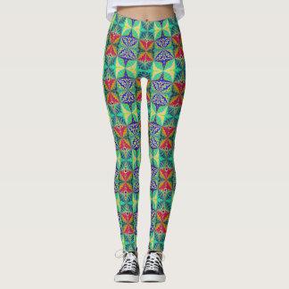 Decorative Pattern Leggings