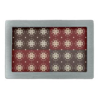 Decorative Pattern Rectangular Belt Buckle