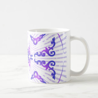 Decorative Pattern: Vector Drawing: Coffee Mug