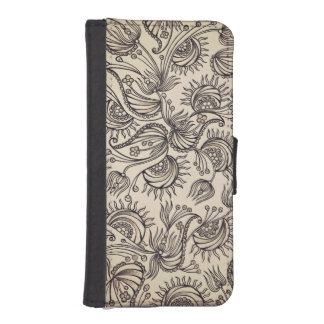 Decorative Pattern Wallet Case