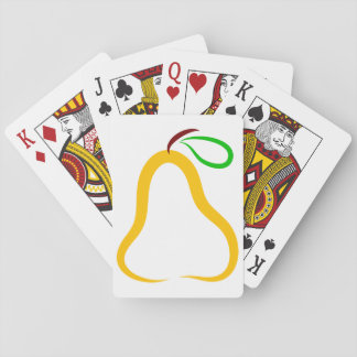 Decorative Pear Playing Cards