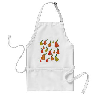 Decorative pears pattern standard apron