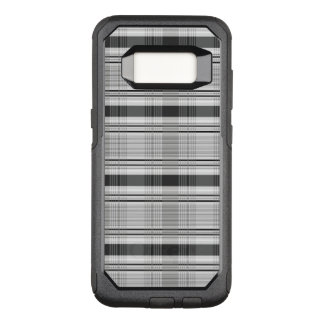 Decorative plaid pattern OtterBox commuter samsung galaxy s8 case