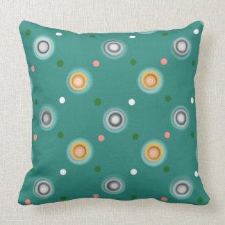 Decorative Polka Dot Throw Pillow
