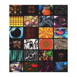 Decorative  Pop Arts Pattern Canvas Print