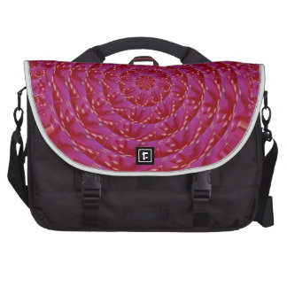 Decorative Quited look RedRose Petal Couture Gifts Laptop Commuter Bag