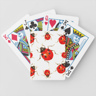 DECORATIVE RED LADY BUG GIFTS BICYCLE PLAYING CARDS
