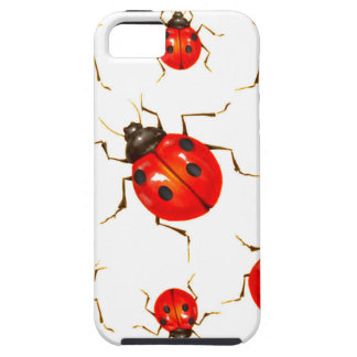 DECORATIVE RED LADY BUG GIFTS CASE FOR THE iPhone 5