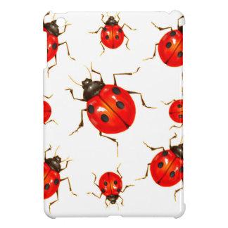 DECORATIVE RED LADY BUG GIFTS iPad MINI CASE