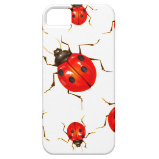 DECORATIVE RED LADY BUG GIFTS iPhone 5 CASE
