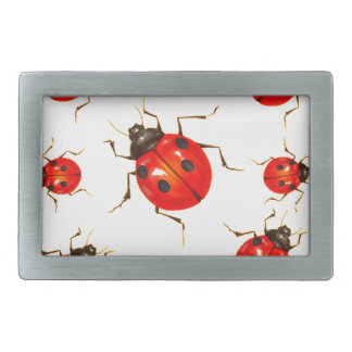 DECORATIVE RED LADY BUG GIFTS RECTANGULAR BELT BUCKLES