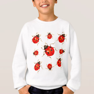 DECORATIVE RED LADY BUG GIFTS SWEATSHIRT