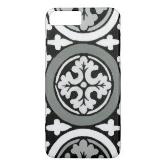 Decorative Renaissance Rosette Tile Design iPhone 7 Plus Case