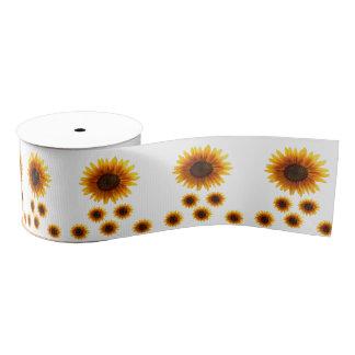 decorative ribbon sunflowers grosgrain ribbon