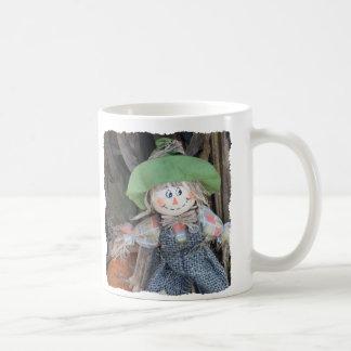 Decorative Scarecrow Coffee Mug