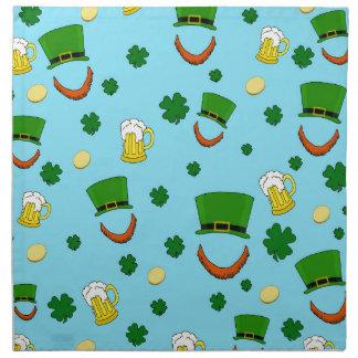 Decorative St. Patrick's day pattern Napkin