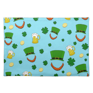 Decorative St. Patrick's day pattern Placemat