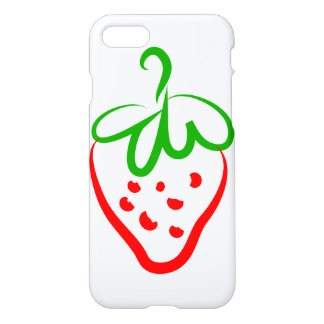 Decorative Strawberry iPhone 7 Case