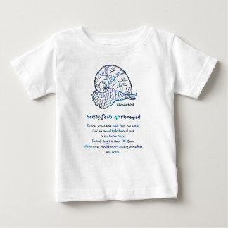 < Decorative sukerihutsuto (blue mother-of-pearl Baby T-Shirt