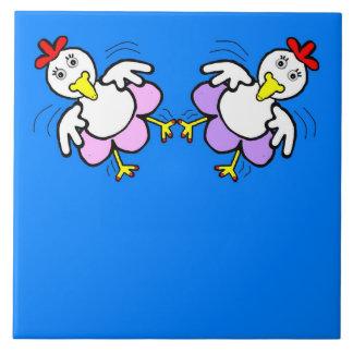 Decorative Tiles - Chicken Dance