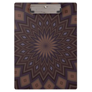 Decorative trendy pattern clipboard