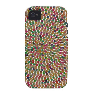 Decorative Wave Template DIY add Text Image Gifts iPhone 4 Case