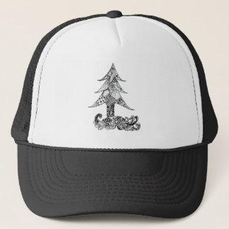 Decorative Xmas Tree Trucker Hat