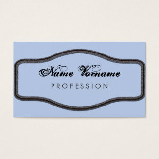 decoratively business card