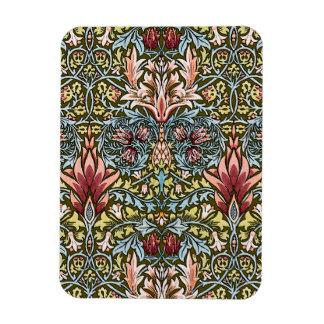Decorator Floral Wallpaper Pattern Vintage Chic Magnet