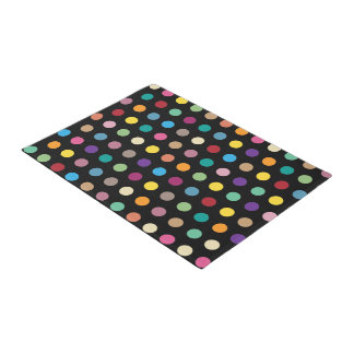 Decorator Polka Dot Pattern Doormat